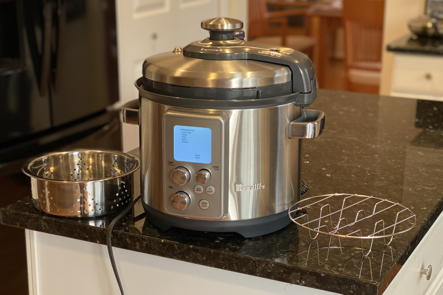 breville fast slow pro with accessories