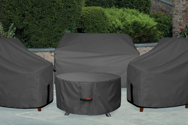 fire pit pre-made covers